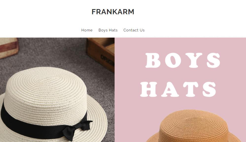 Frankarm.com Homepage Image