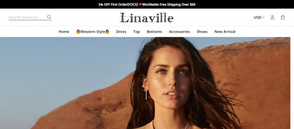 Linaville.com Homepage Image