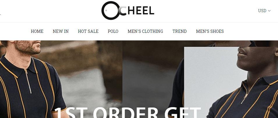 Ocheel.com Homepage Image