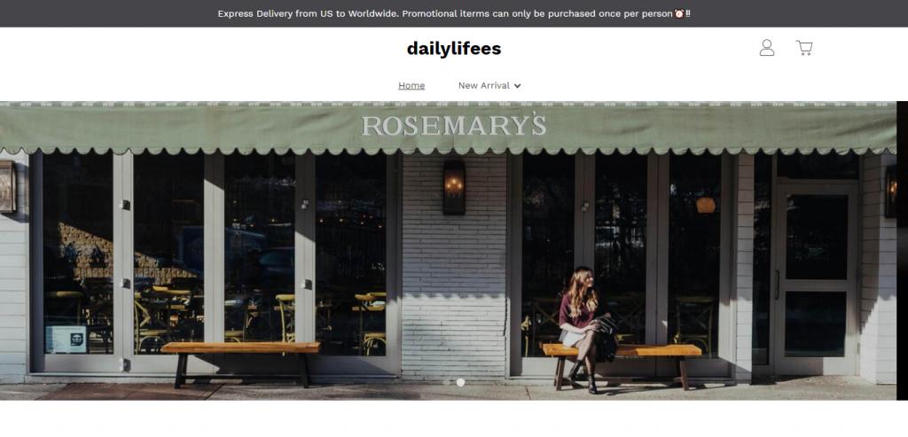 dailylifees.com Homepage Image